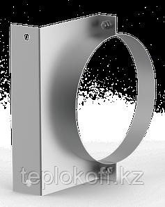 Кронштейн стеновой универсальный ф 120, AISI 439/1,0мм