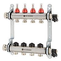 Коллектор с расходомерами 6 вых IMI (Швейцария)