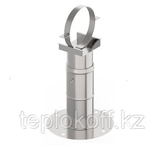 Кронштейн стеновой телескопический (40-75см), ф 210, AISI 439/1,0мм