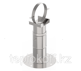 Кронштейн стеновой телескопический (40-75см), ф 260, AISI 439/1,0мм