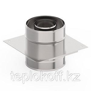 Монтажная площадка ф 150х210, AISI 439/439, 1,0мм/0,5мм, (К)