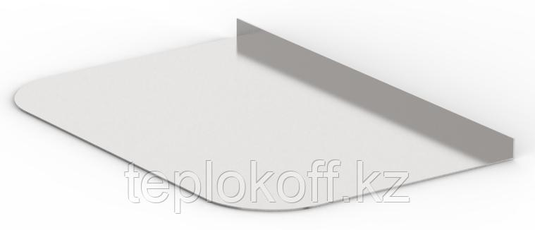 Притопочный лист  600х500 оцинковка 0,5мм