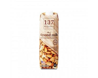 Миндальное молоко 137 Degrees с нектаром кокосовых соцветий 1000 мл