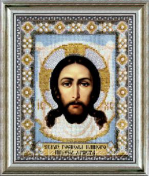"""Набор для вышивания бисером """"Икона Образ Господа Нашего Иисуса Христа """" Б-1003"""