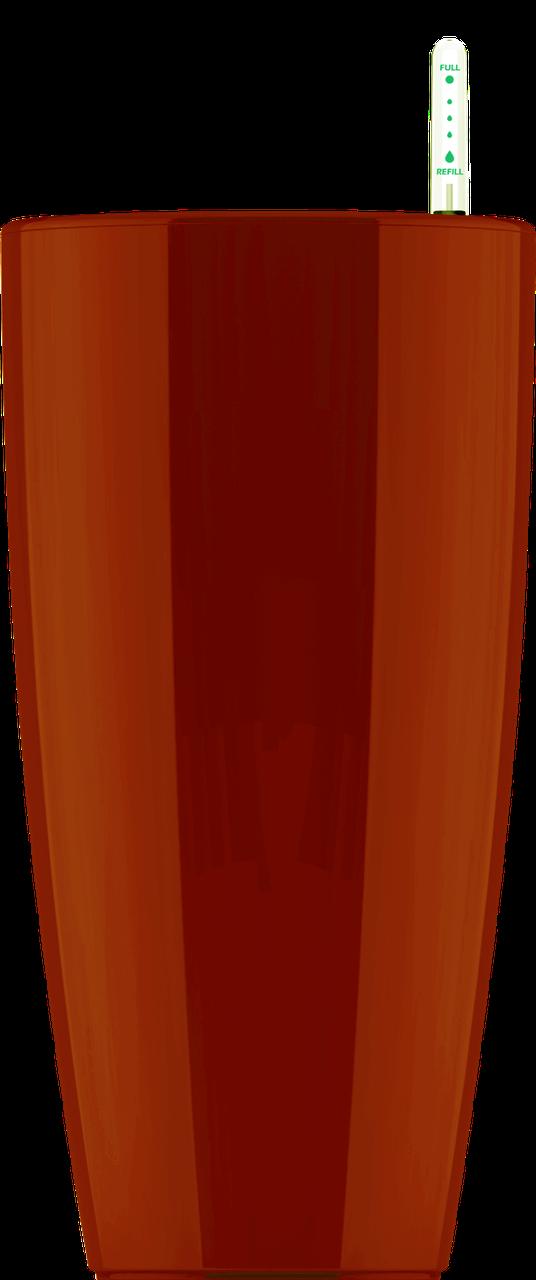 Кашпо коричневый с автополивом 12х23cmH
