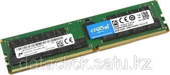 Crucial DRAM 32GB DDR4 2666 MT/s (PC4-21300) CL19 DR x4 ECC Registered DIMM 288pin