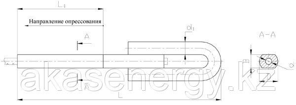 Зажимы натяжные клиновые НС-170-3, НС-220-3