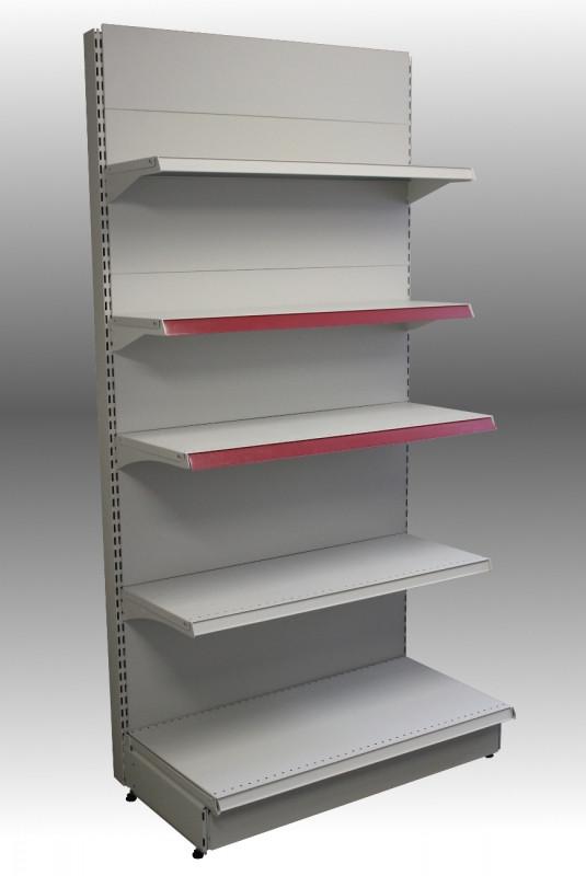 Стеллаж металлический пристенный секция 2000*500/400