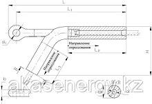 Зажимы натяжные НАС 400-1, НАС 450-1