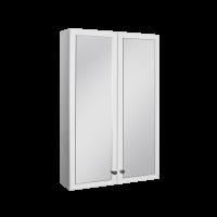 Угловой настенный шкаф с зеркалом SV 800*520*345 (БШНЗ1у)