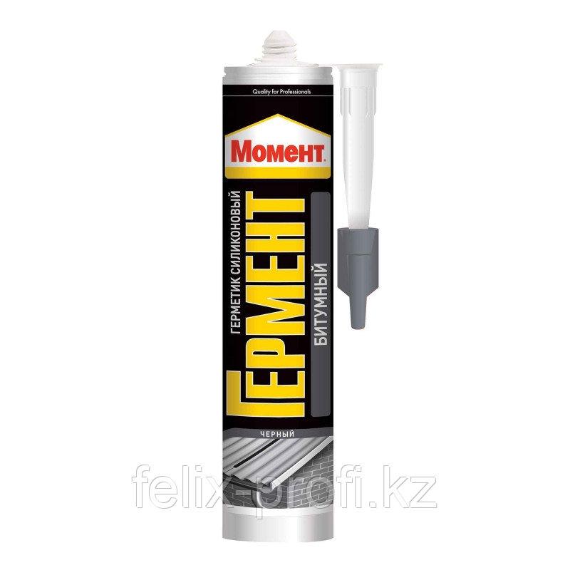 Герметик   Момент Гермент - битумный (черный) 300мл.