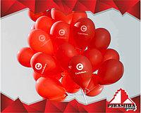 Арки из шаров и шары с логотип...