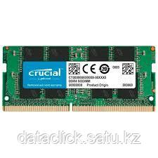 Crucial DRAM 8GB DDR4 2400 MT/s (PC4-19200) CL17 DR x8 Unbuffered SODIMM 260pin