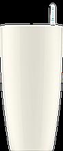 Белый горшок кашпо с автополивом 35х61cmH