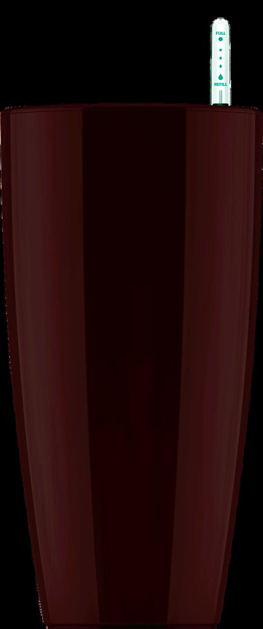 Коричневый кашпо с автополивом 35х61cmH