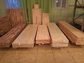 Мебельный щит Ель (цельноламельный) Толщиной 40 мм., фото 3