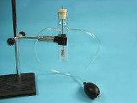 Прибор для окисления спирта над медным катализатором