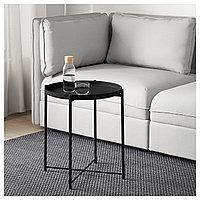 Стол сервировочный ГЛАДОМ черный ИКЕА, IKEA  , фото 1
