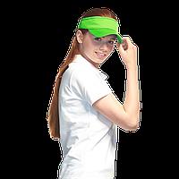 Классический жесткий козырек, StanVisor, 25U, Ярко-зелёный (26), 56-58