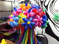 Разноцветные цветочки из шаров, фото 1
