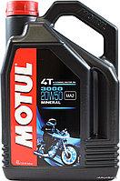 Моторное масло для 4-х тактных мотоциклов MOTUL 3000 4T 20W50 1литр