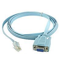 Консольный кабель с RJ45(m) на COM(m) RS232, 1.5m