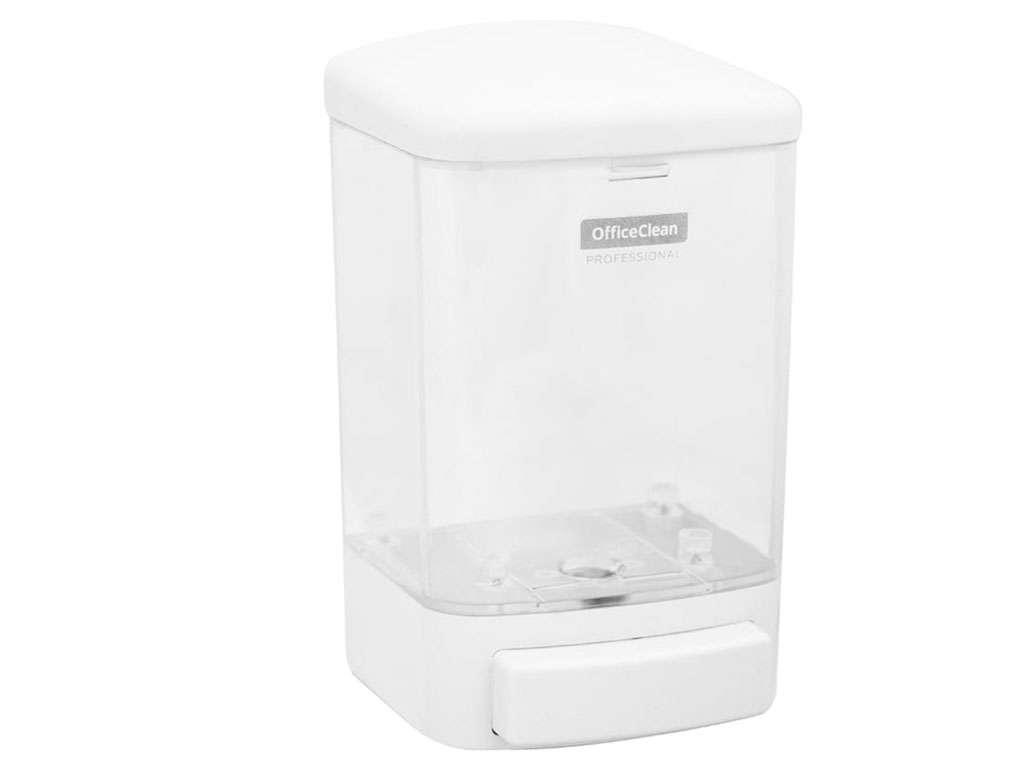 "Диспенсер OfficeClean ""Professional"", для жидкого мыла, ABS-пластик 1000 мл, белый"