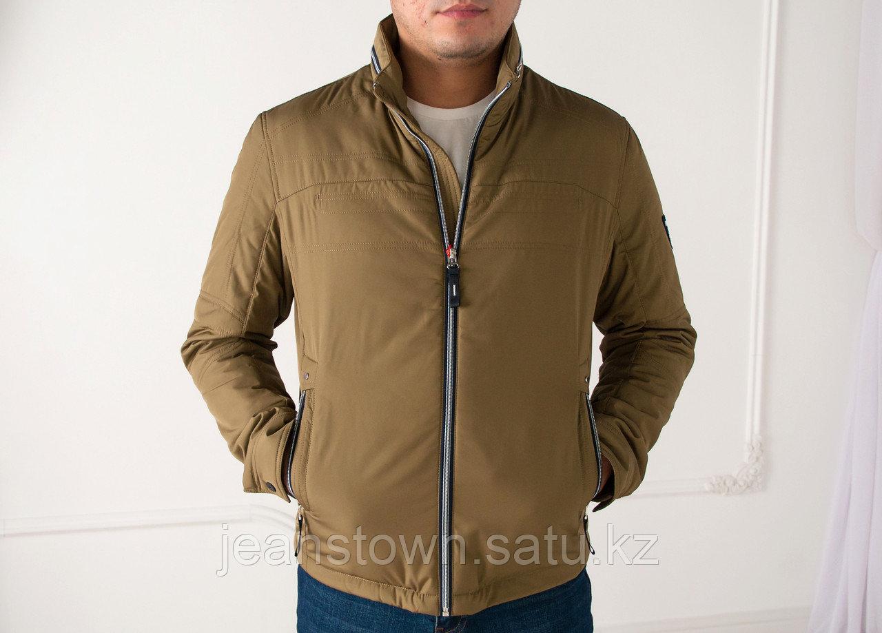 Куртка мужская демисезонная Kings  Wind короткая, коричневая