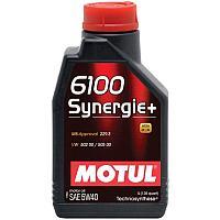 МОТОРНОЕ МАСЛО MOTUL 6100 Synergie + 5W-40  1 литр