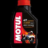Высокотехнологичное моторное масло Motul 7100 4T 10W-40 1литр