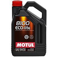 Синтетическое моторное масло MOTUL 8100 Eco-lite 5W-30  5 литров