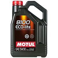 Синтетическое моторное масло MOTUL 8100 Eco-lite 5W-30  4 литра