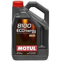 Синтетическое моторное масло MOTUL 8100 ECO-NERGY 0W-30  5 литров