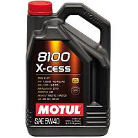 Синтетическое моторное масло MOTUL 8100 X-CESS 5W-40  5 литров