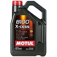 Синтетическое моторное масло MOTUL 8100 X-CESS 5W-40  4 литра