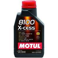 Синтетическое моторное масло MOTUL 8100 X-CESS 5W-40  1 литр