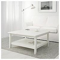 Стол журнальный ХЕМНЭС белая морилка ИКЕА, IKEA