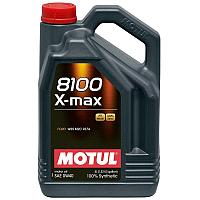 Синтетическое моторное масло MOTUL 8100 X-MAX 0W-40  5 литров