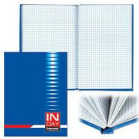 Блокнот А5 BRAUBERG 96л.твердая обложка. Индей синий # 121929