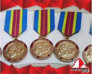 Изготовление литых значков и наградных медалей