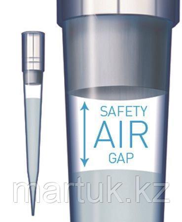 Наконечники SafetySpace™ с фильтрами 50–1200 мкл, однослойный штатив