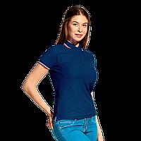 Женская рубашка поло  «триколор», StanRussianWomen, 04WRUS, Тёмно-синий (46), XL/50