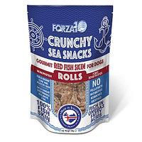 Лакомство для собак всех пород с 4х месяцев Snack Al Pesce: Red Fish Skin Rolls (морской окунь)