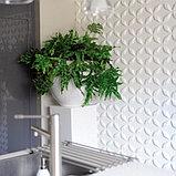 Гипсовые 3Д панели Сапфир  50х50х2,5 см, фото 5