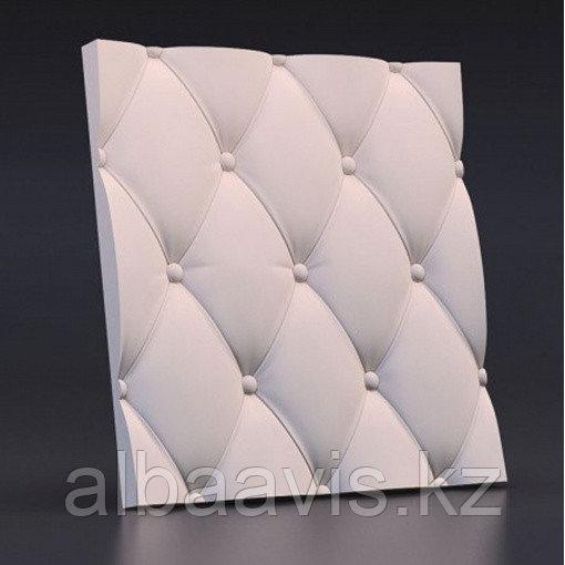 "3D гипсовые панели ""Подушка"" 3D/18 50х50х2,5 см"