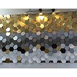"""Гипсовые 3D панели """"Сота"""" 3D/20 50х50х2,5 см  для декорирования стен, фото 3"""