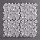 """Гипсовые 3D панели """"Сота"""" 3D/20 50х50х2,5 см  для декорирования стен, фото 5"""