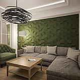 """Гипсовые 3D панели """"Сота"""" 3D/20 50х50х2,5 см  для декорирования стен, фото 10"""