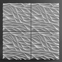 Гипсовая 3D панель Пламя, фото 2