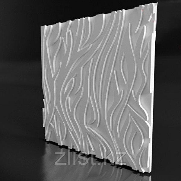 Гипсовая 3D панель Пламя